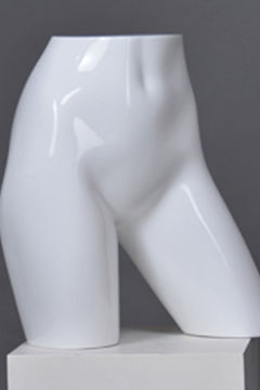Male or female Big butt hip torso pants underwear mannequin(TUN-4,used plus size mannequin)
