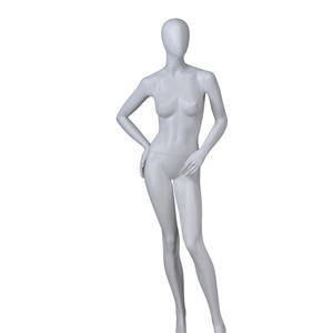 abstract glossy body mannequin for clothes,female torso mannequin