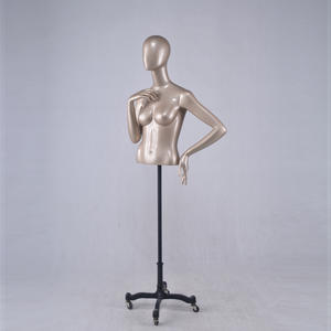 half body sex female mannequin torso,half mannequin with head