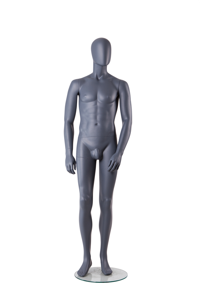 Wholesale cheap sitting muscle male mannequin with penis men for sale(TMA-1,cheap full body mannequins)