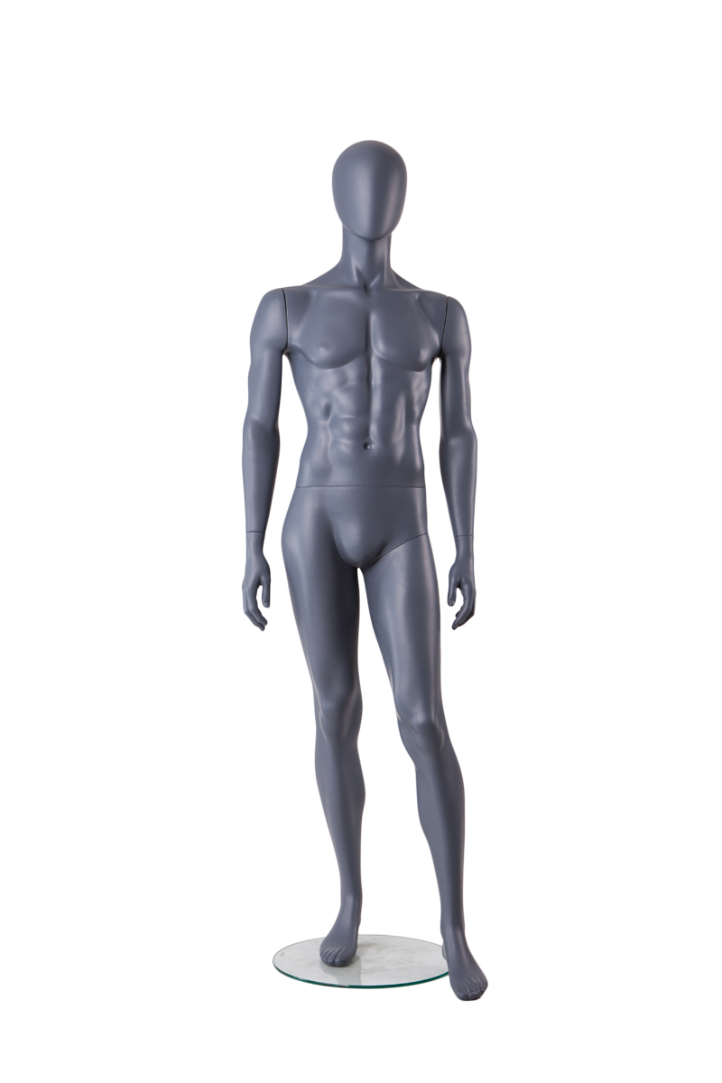 Wholesale cheap sitting muscle male mannequin with penis men for sale(TMA-2,cheap male mannequin)