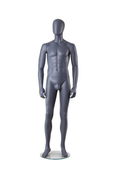Wholesale cheap sitting muscle male mannequin with penis men for sale(TMA-3,male mannequin wholesale)