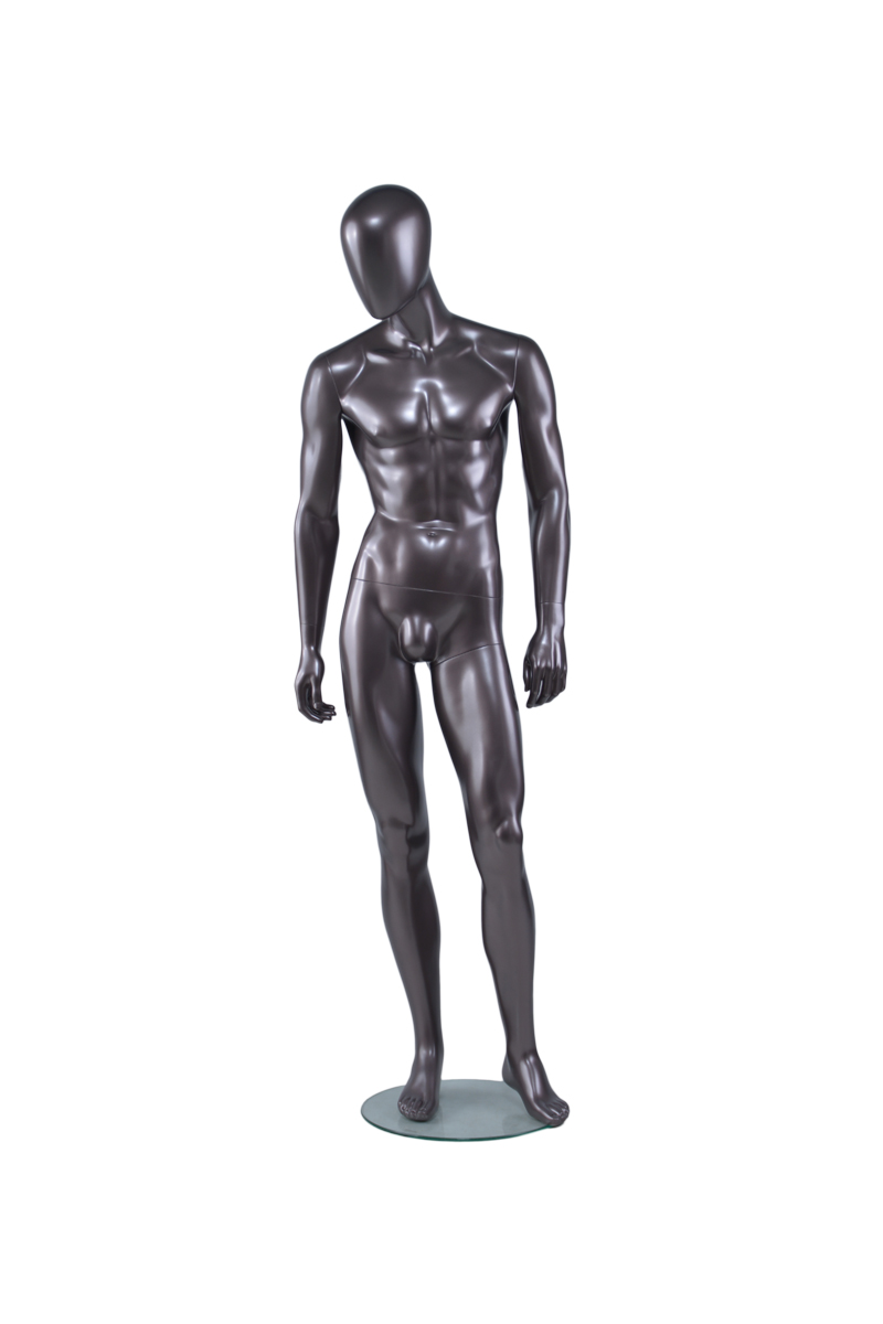 High end sexy lifelike full body muscle black male mannequin plus size man body(AEM,black mannequins for sale)