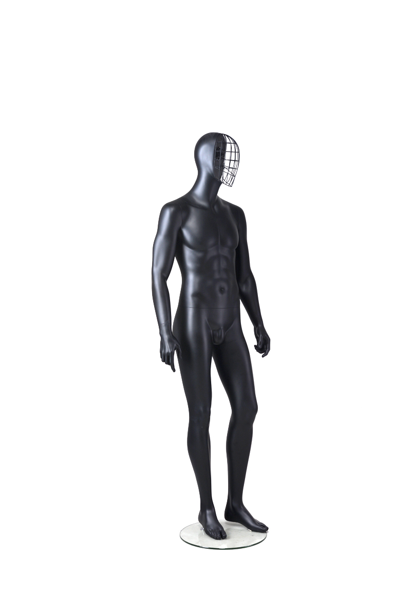 Shop man business suit black cool male underwear cheap mannequin(EDG-6,black male mannequin)