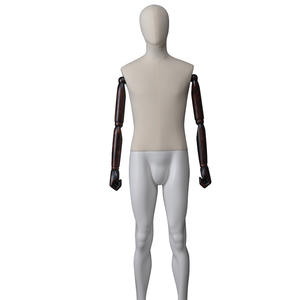 full body fabric mannequin men dummy,fashion design mannequin