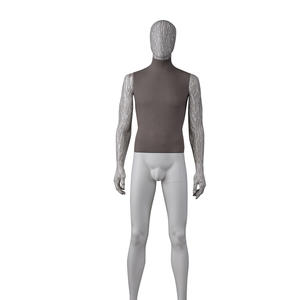 full body fabric mannequin men dummy,fabric mannequin