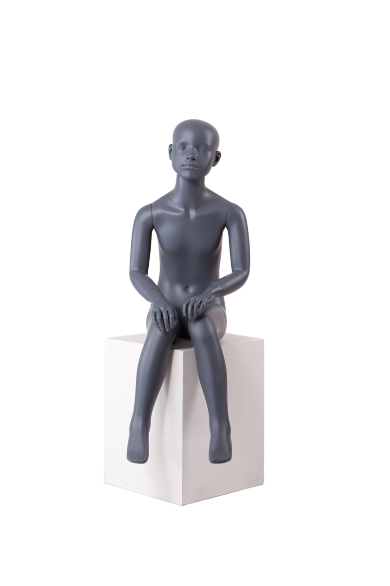 Lifelike realistic teenage child kids boy mannequins for sale(RON-8,sitting mannequin for sale)