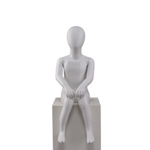 full body youth child mannequins,seated mannequin