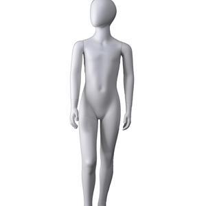 Egg head girl child mannequin,white kids mannequin