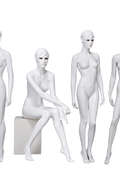 Custom Realistic Female Mannequin sexy female mannequin lady with make up head wholesale(PPL make up female mannequin)