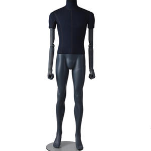 High quality Full Body Fabric Mannequin male fashion dummy with adjustable hand on sale