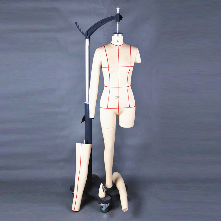 Adjustable sewing beautiful ladies full body tailor mannequin womens adjustable dressmaker mannequin garment dummy