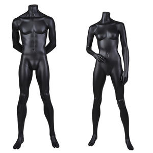 Hot sale male female big muscle sport display mannequins