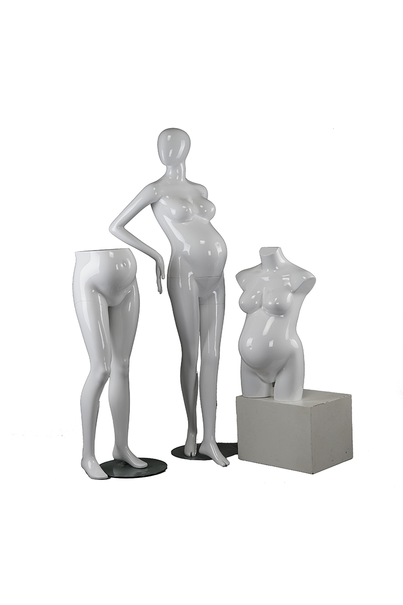 Plastic pregnant cheap female mannequin for sale abstract pregnant mannequin torso