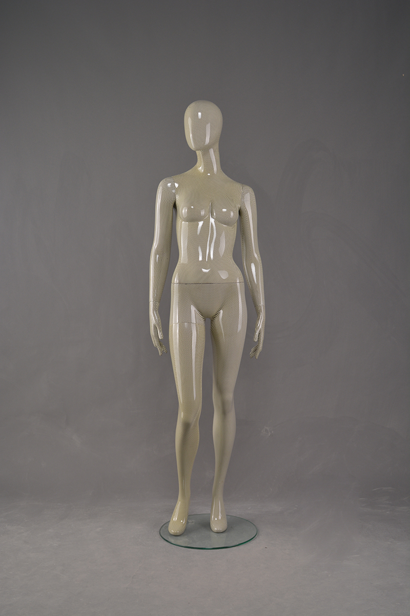 Water Transfer Printing Mannequin New unique water transfer printing fiberglass female mannequin(WF)