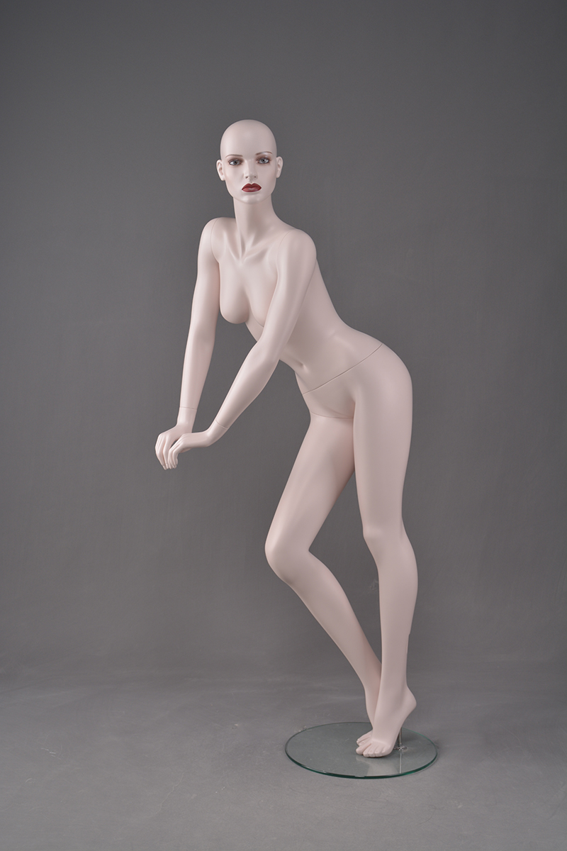 Clear plastic female mannequins supplier cheap plastic mannequin