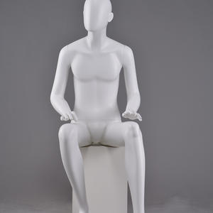 Fashion Window White Full Male Mannequin Cheap Fiberglass Mannequin on Sale