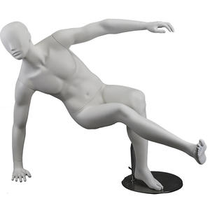 Fashion sports mannequin muscle male display mannequins in stores