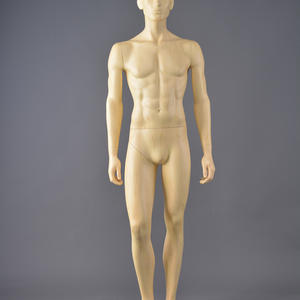 Fashion musclevintage male mannequin display water transfer printing mannequin for clothing display in store