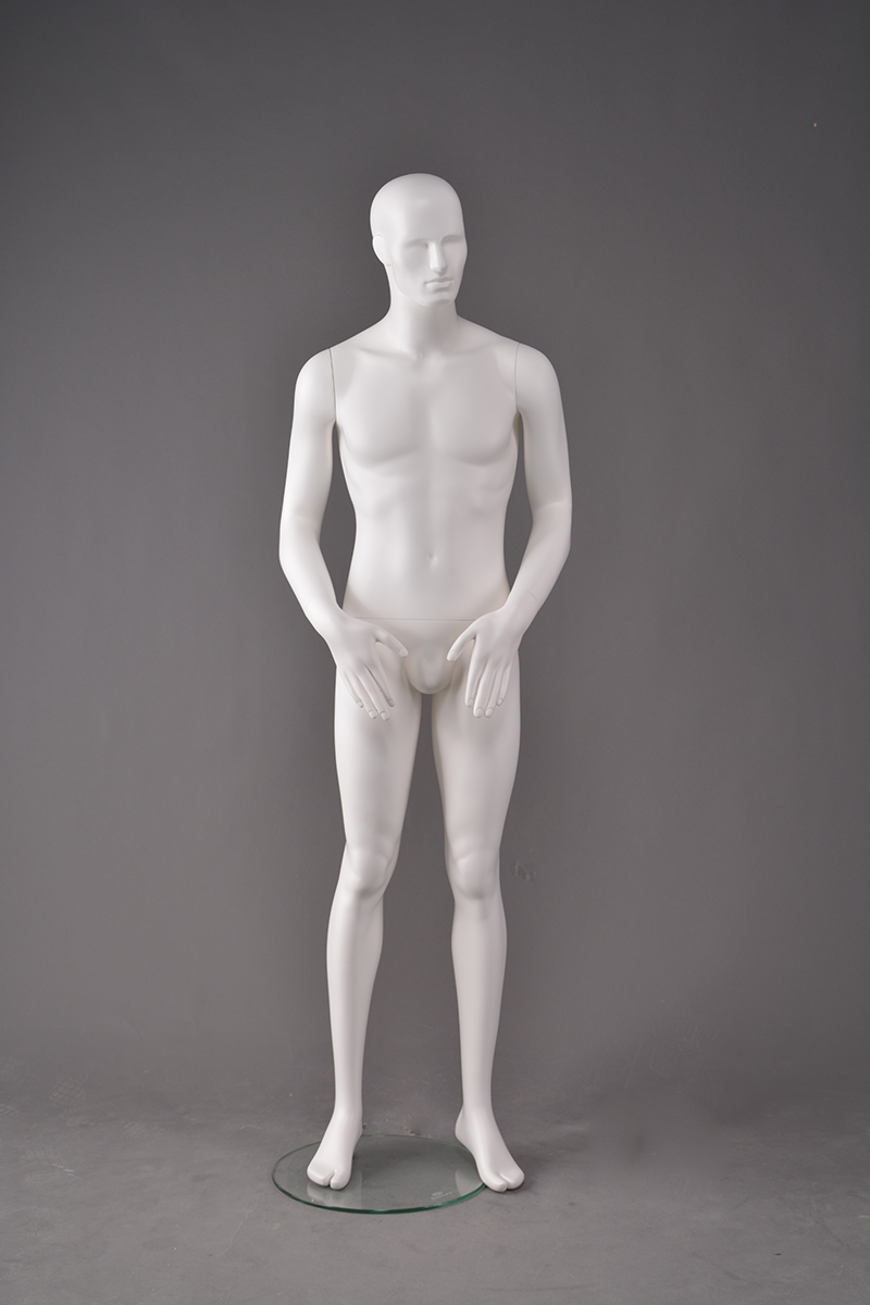 Innovative design men dummy white male garment mannequin for window display