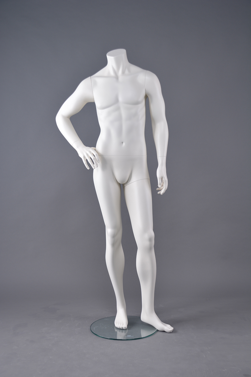 High quality brand new fiberglass muscle male mannequin full body headless male mannequinfor sale