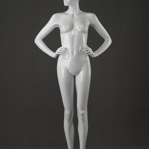 fashionable online full body cheap faceless sexy abstract sitting female mannequin doll for sale