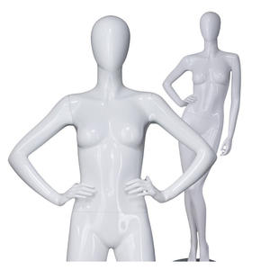 Western fashion dummy full-body clothing display manikins abstract female mannequins for sale
