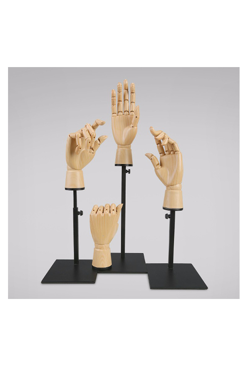 Customized hand mannequin for gloves(NH)