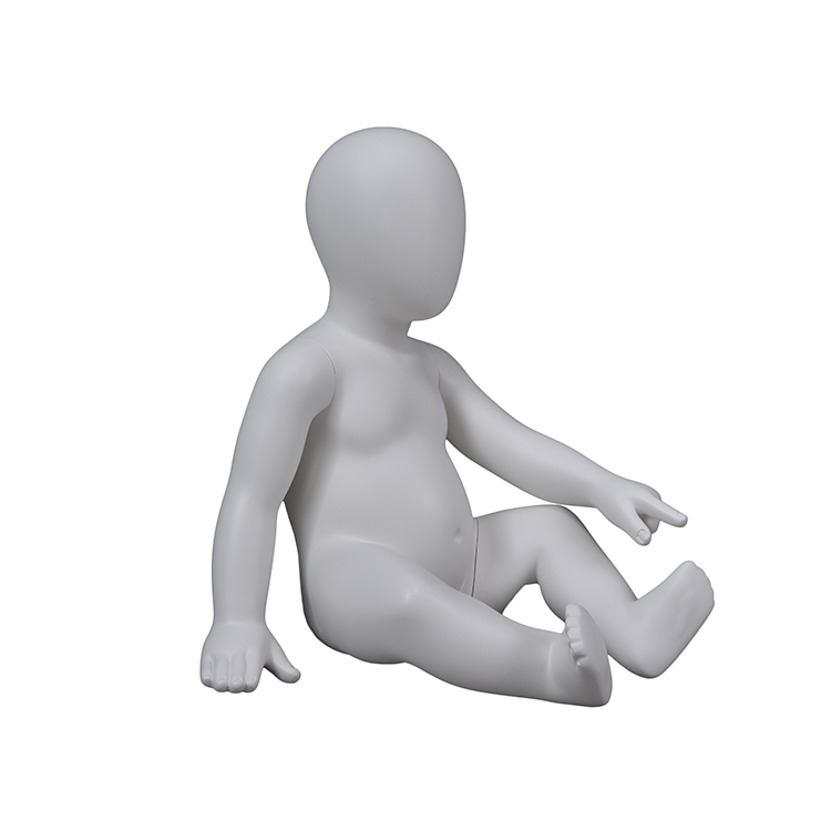 Kids abstract baby dummy manikin model boy mannequin crawling(IG 6 months infant mannequins)