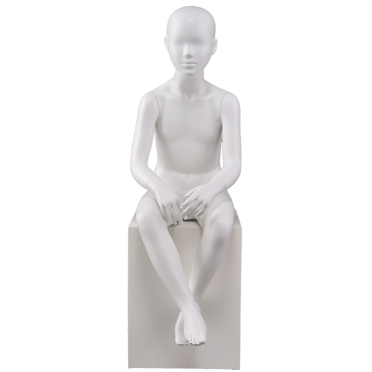 Customized store mannequin children for clothing display(AMH 8 years old children mannnequins)