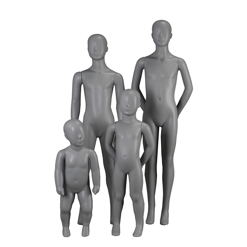 Customized display children mannequin abstract boys manikin for clothing display(IH 1-8 years old child mannequin)