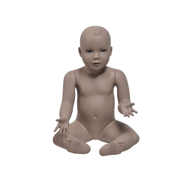 Lifelike baby mannequin full body mannequin for clothing display (KME6 months baby mannequin )