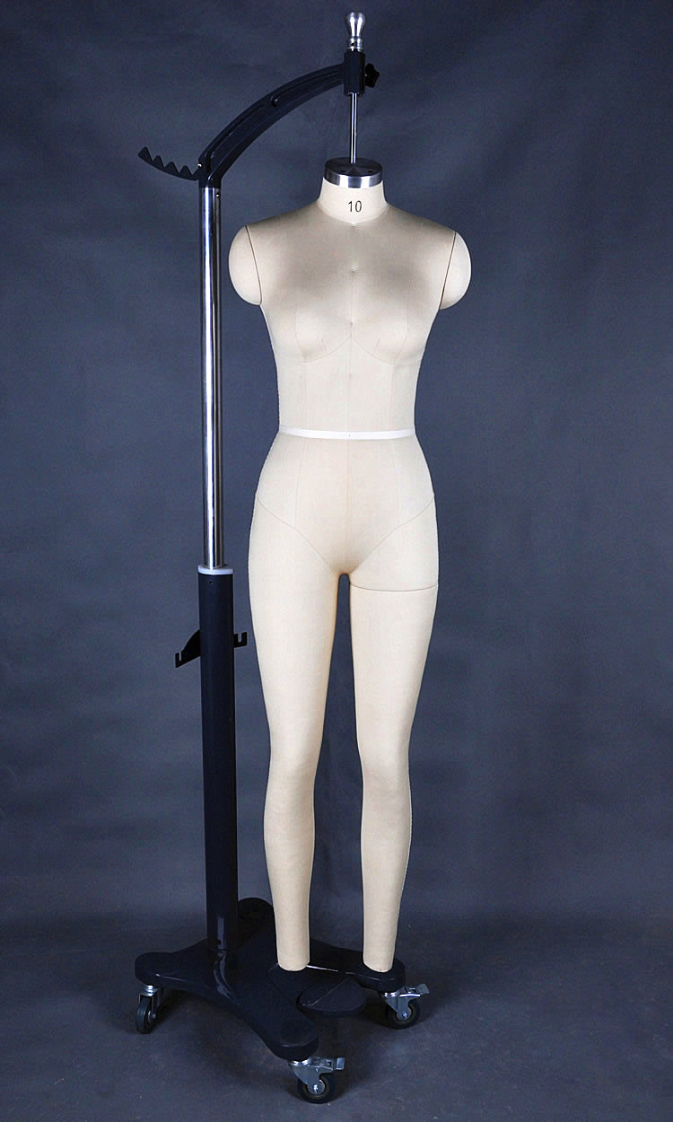 Customized Full Body Adjustable Sewing Mannequin Female Mannequin With Arms