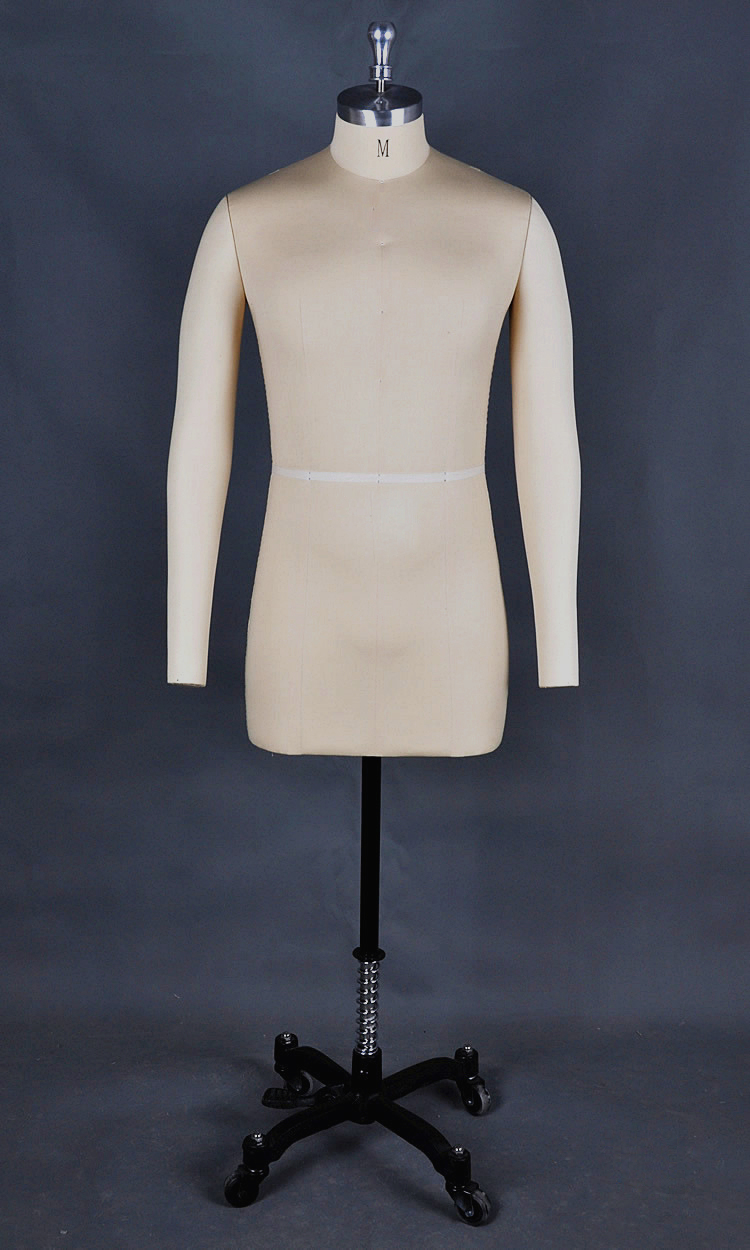 Customized half body Tailoring Mannequin for male clothings