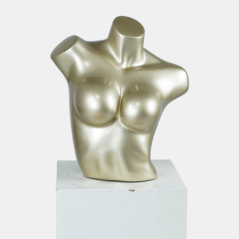 Fashion female upper body mannequin big breast bra mannequin bust form display stand(XM-4 bust mannequin)