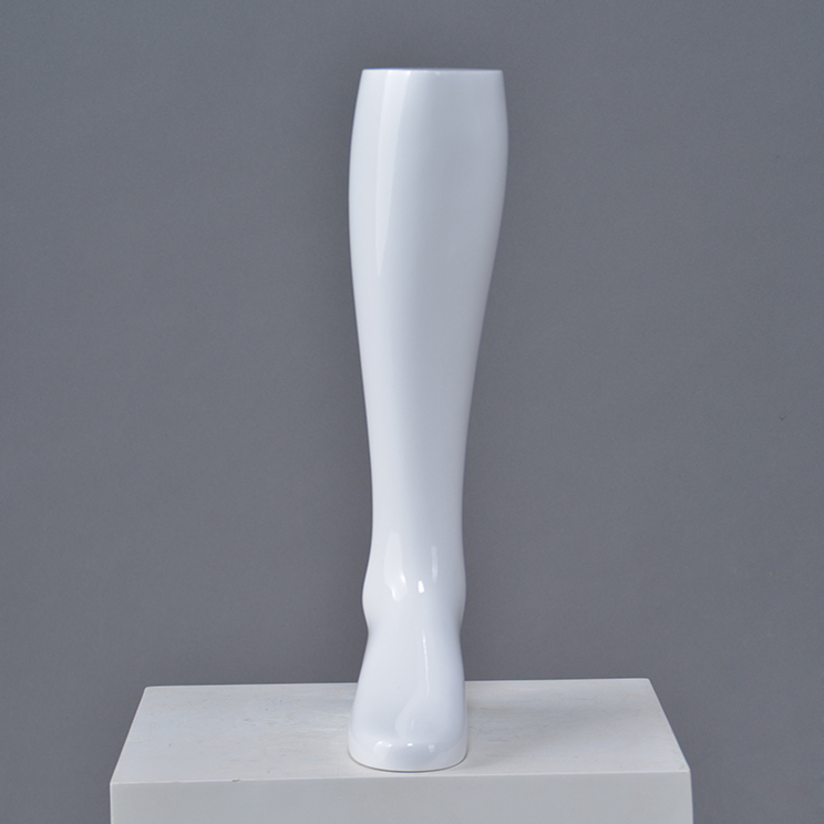 Customized White Female Foot Mannequin for shoes display(CF)