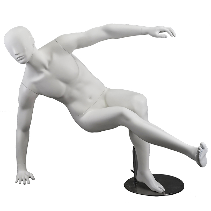 Fashion sports mannequin muscle male display mannequins in stores(WM)