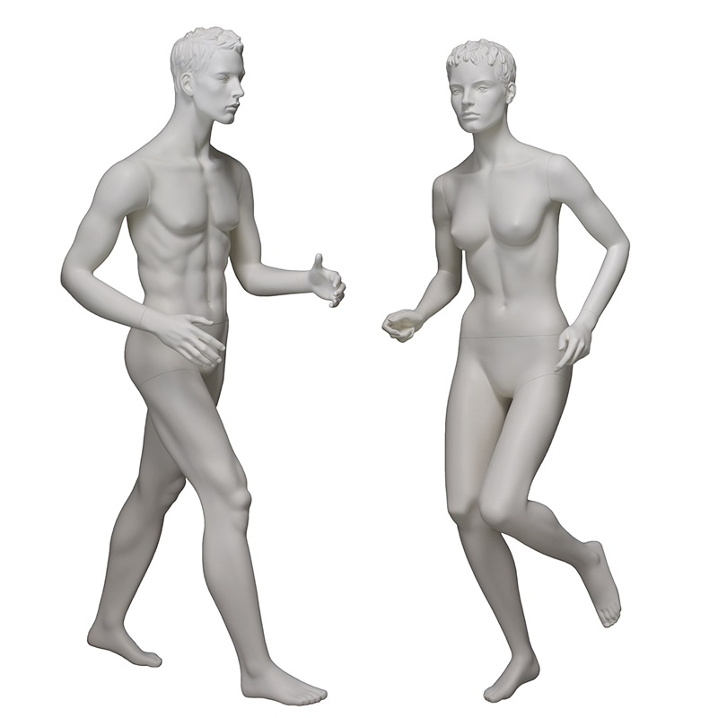 Customized female and male walking mannequin fashion sports mannequin for sale(EPM)