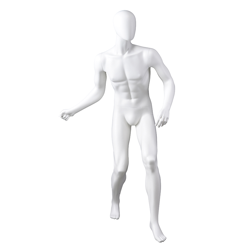 Customized mannequin sports male full body muscular mannequin (QPM)
