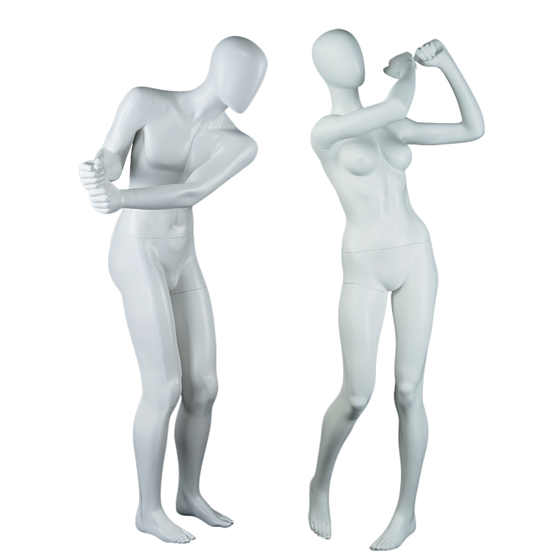 Customized golf mannequin female and male full body mannequin (SPM)