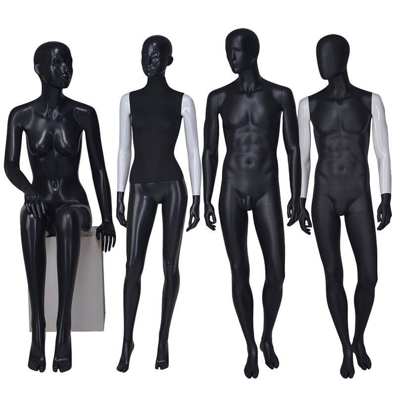 Fashion custom female mannequins for sale male and female mannequin for window display(LTM)