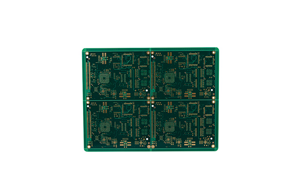 10Layers multicapa PCB Immersion Gold