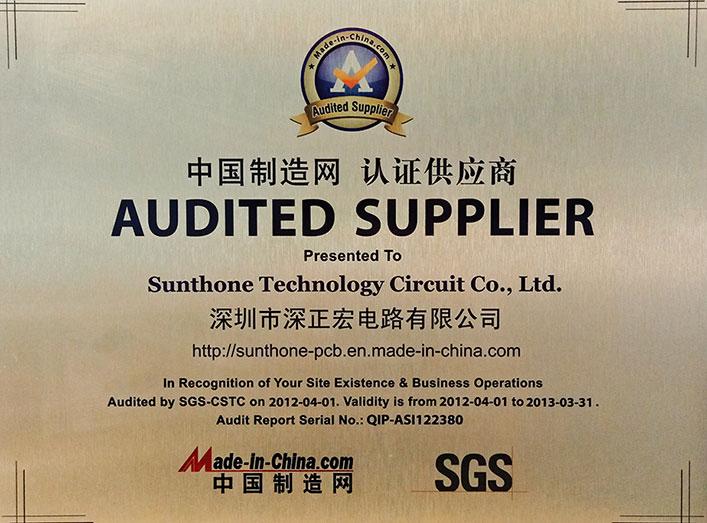 MIC Audited Fournisseur