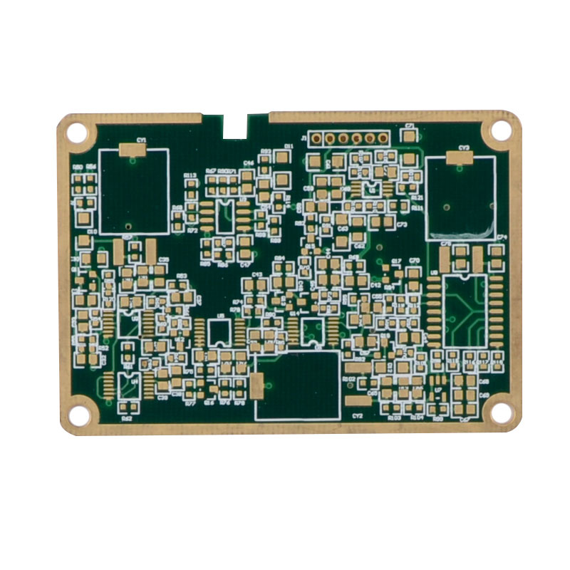 EMS OEM Edge Plated 6L Blind vergrabene Vias PCB Board