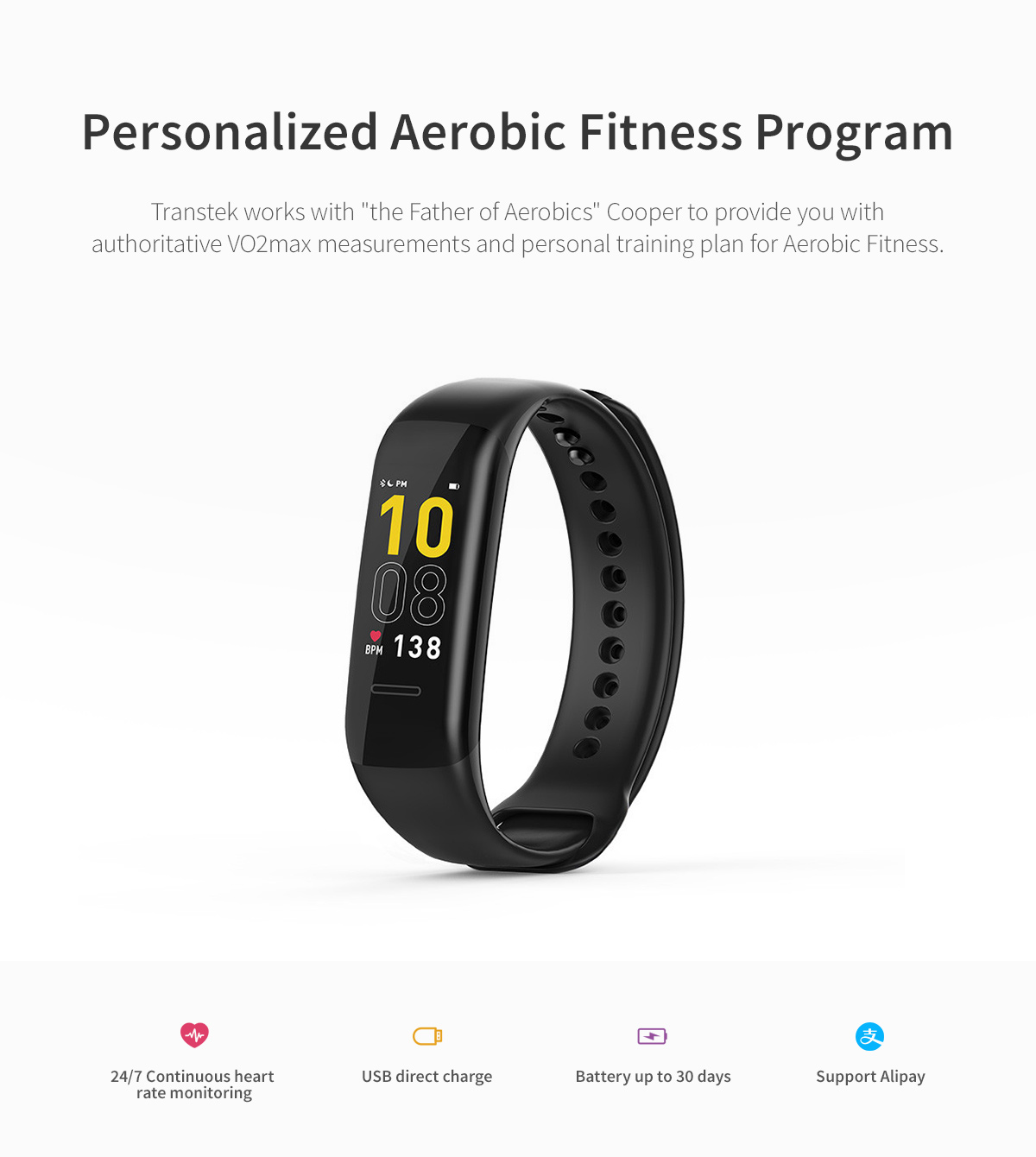 Good-quality-colorful-continuons-heart-rate-monitor-band-5-provider