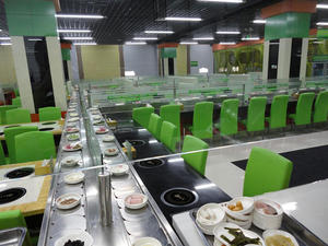 Self-service Rotating Hot Pot