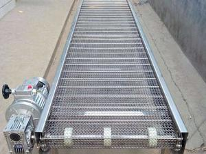 Customized Stainless steel wire net belt conveyor factory