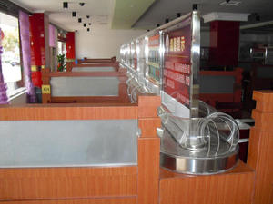 Sushi Rotating Equipment Belt Conveyor