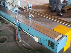 best seller of Flexible Flat top chain conveyor system manufacture