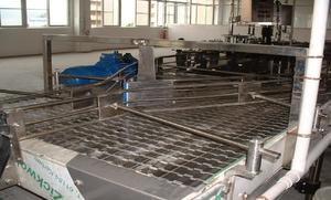 Automatic flat top chain conveyor